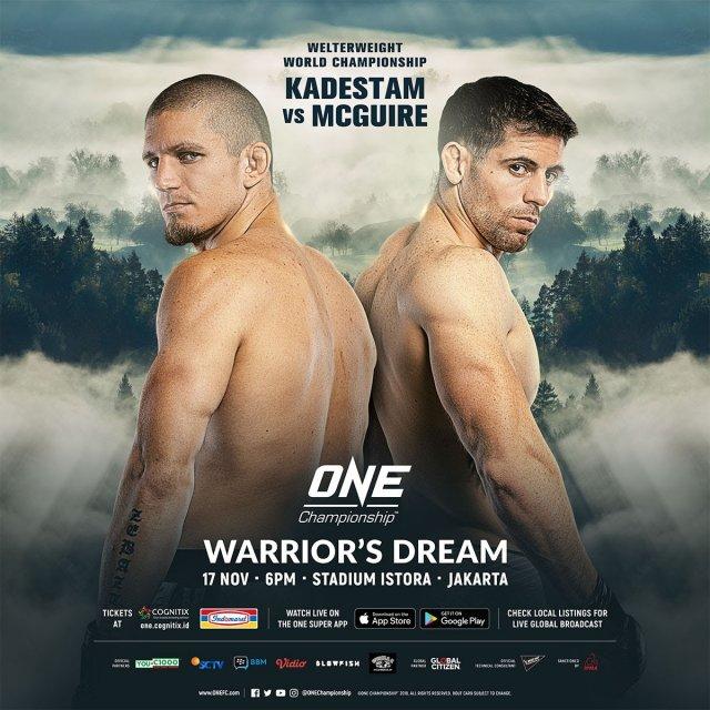 One Championship: Warrior's Dream - Resultados en directo. 20181110