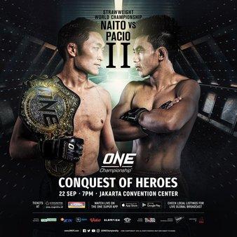 ONE Championship: Conquest of Heroes - Resultados en directo. Dmarrc10