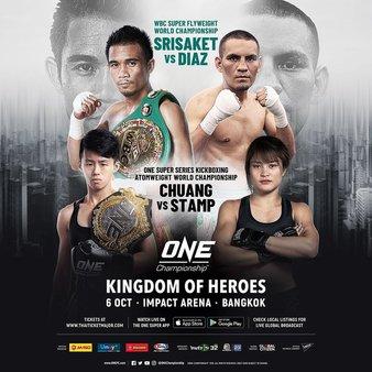 ONE Championship: Kingdom of Heroes - Resultados en directo. Dmf0jq10