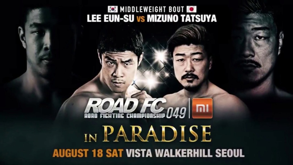 ROAD FC 49: In Paradise - Resultados. Road-f10