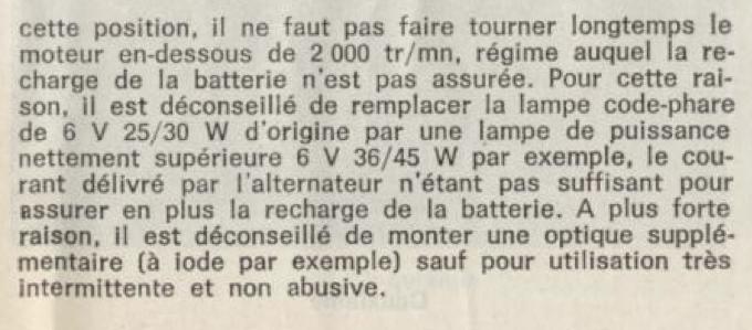 éclairage, consommation, circuit(s) de charge Captur51