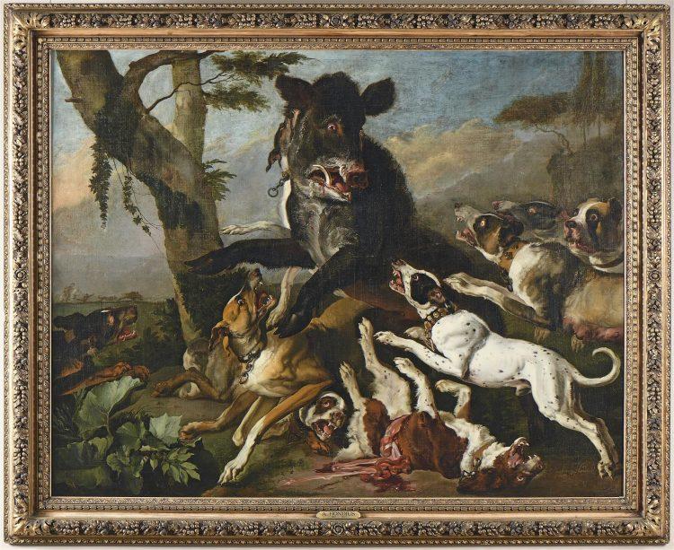 Le mobilier et les tableaux du prestigieux Château de Wailly en vente à Senlis 15140510