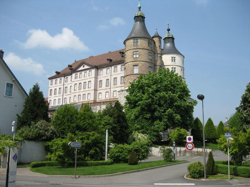 Montbéliard, château des ducs de Wurtemberg 800px-10