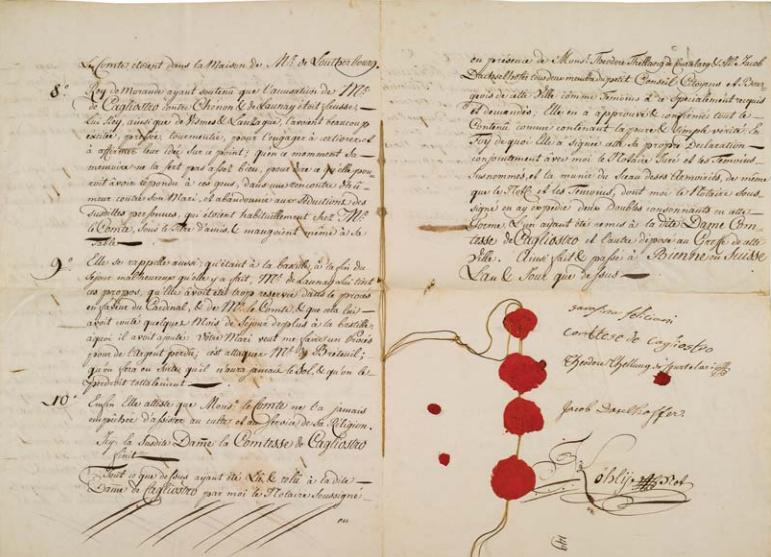 La Collection Aristophil - Lettres et documents importants Zducre15