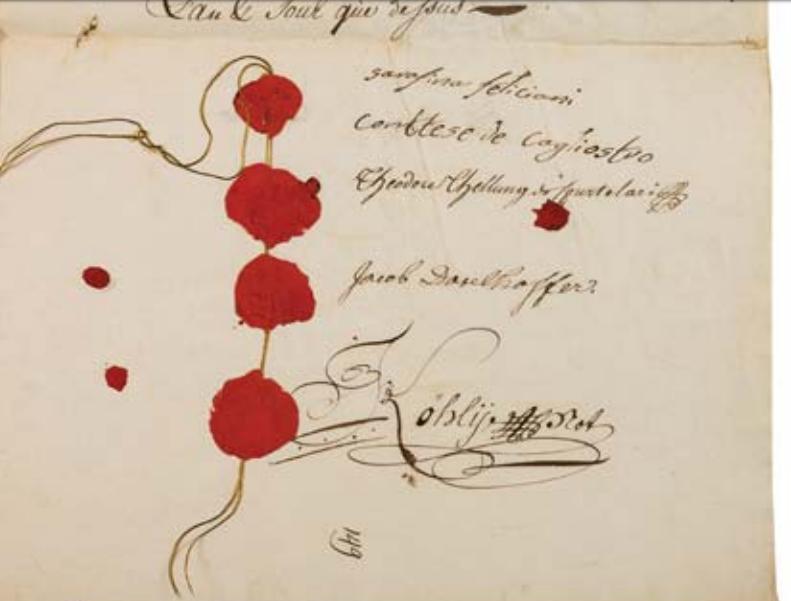 La Collection Aristophil - Lettres et documents importants Zducre16