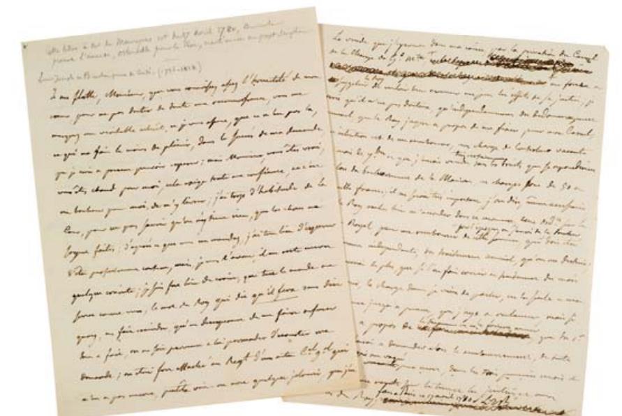La Collection Aristophil - Lettres et documents importants Zducre18
