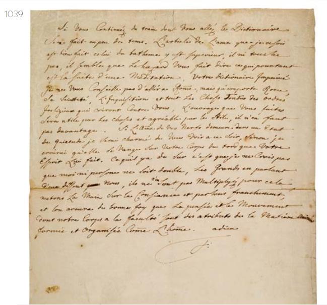La Collection Aristophil - Lettres et documents importants Zducre19