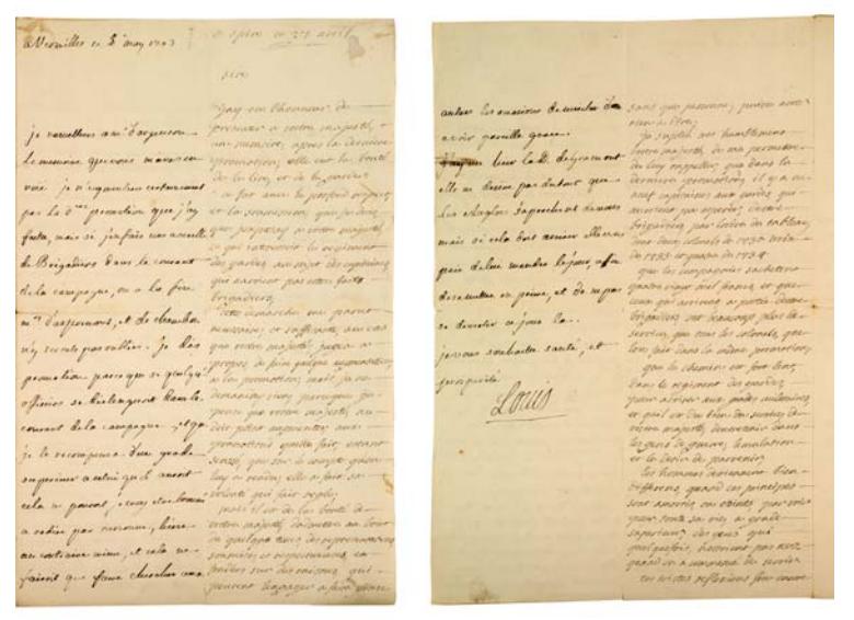La Collection Aristophil - Lettres et documents importants Zducre22