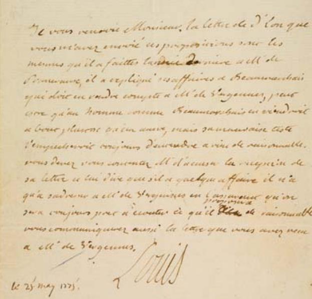 La Collection Aristophil - Lettres et documents importants Zducre23
