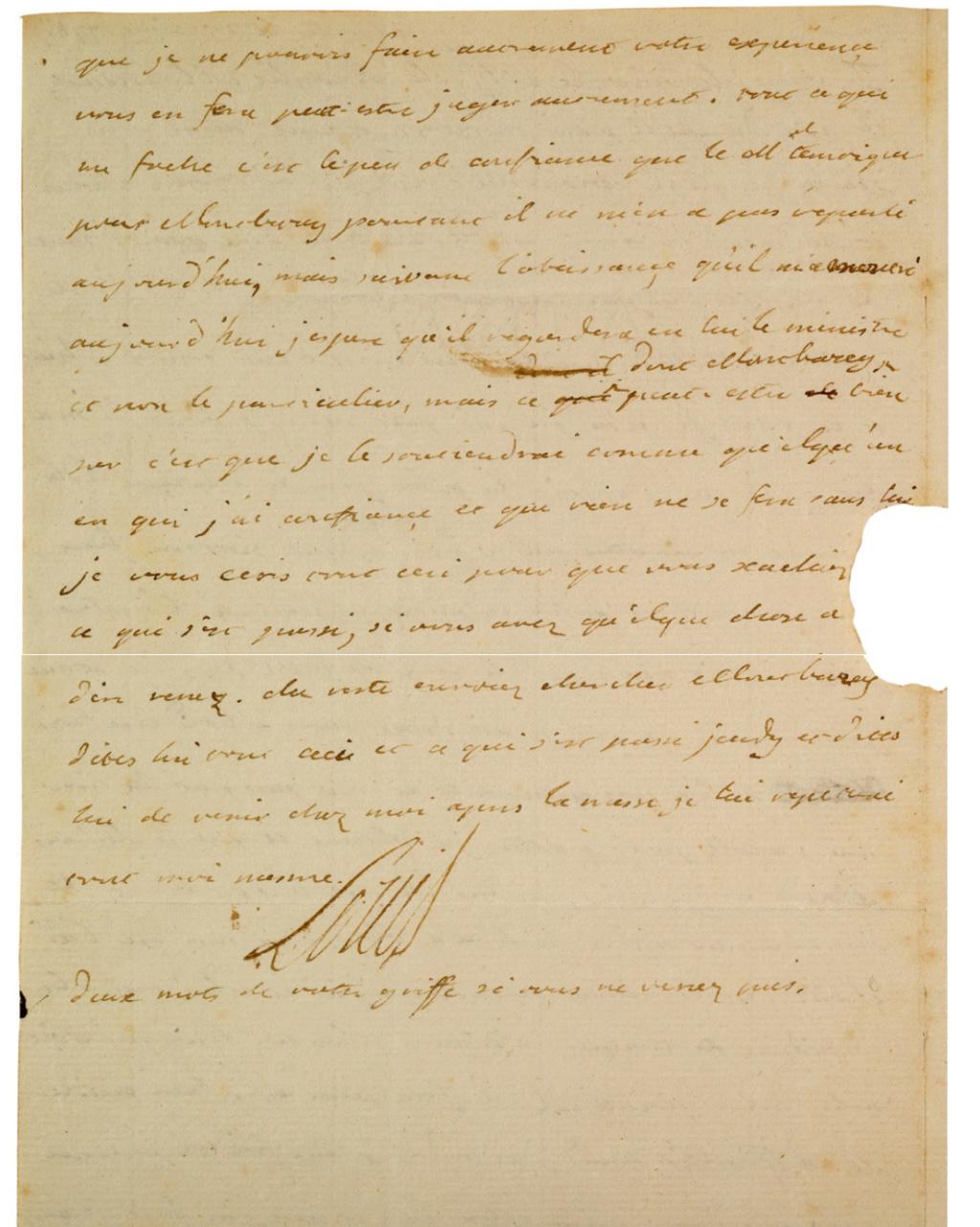 La Collection Aristophil - Lettres et documents importants Zducre26