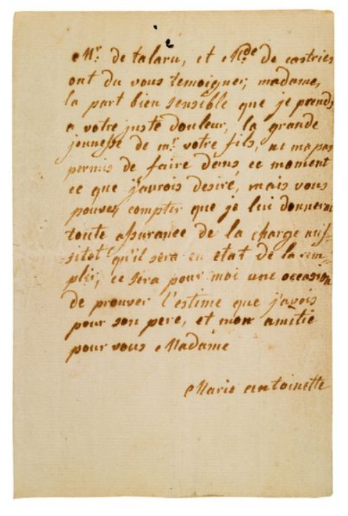 La Collection Aristophil - Lettres et documents importants Zducre27