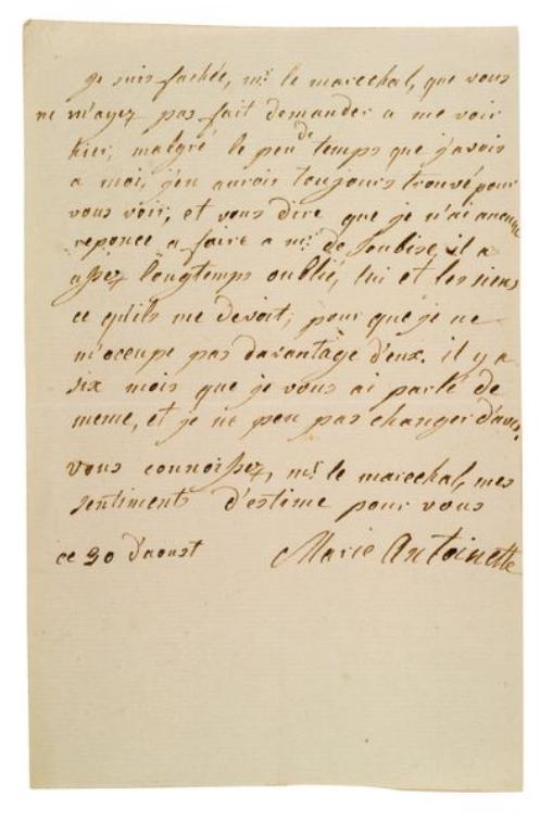 La Collection Aristophil - Lettres et documents importants Zducre28