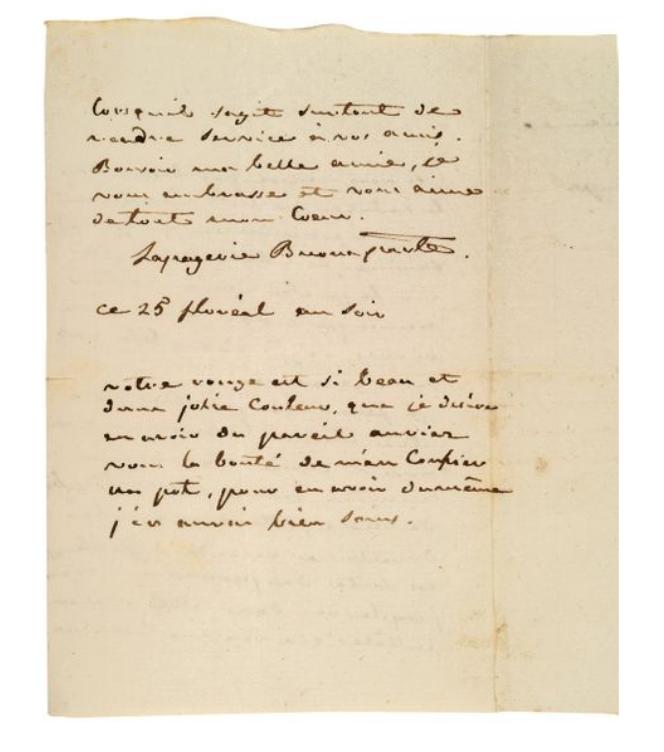 La Collection Aristophil - Lettres et documents importants Zducre33