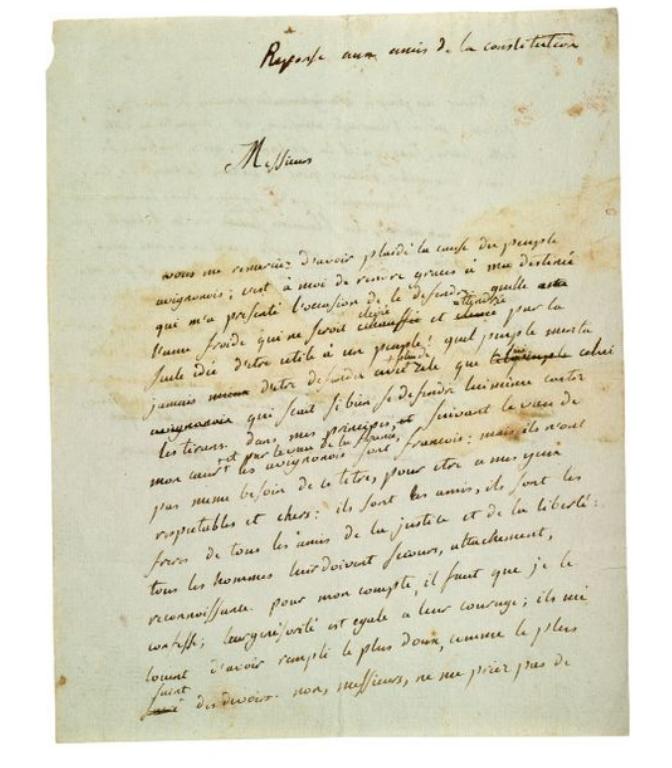 La Collection Aristophil - Lettres et documents importants Zducre34