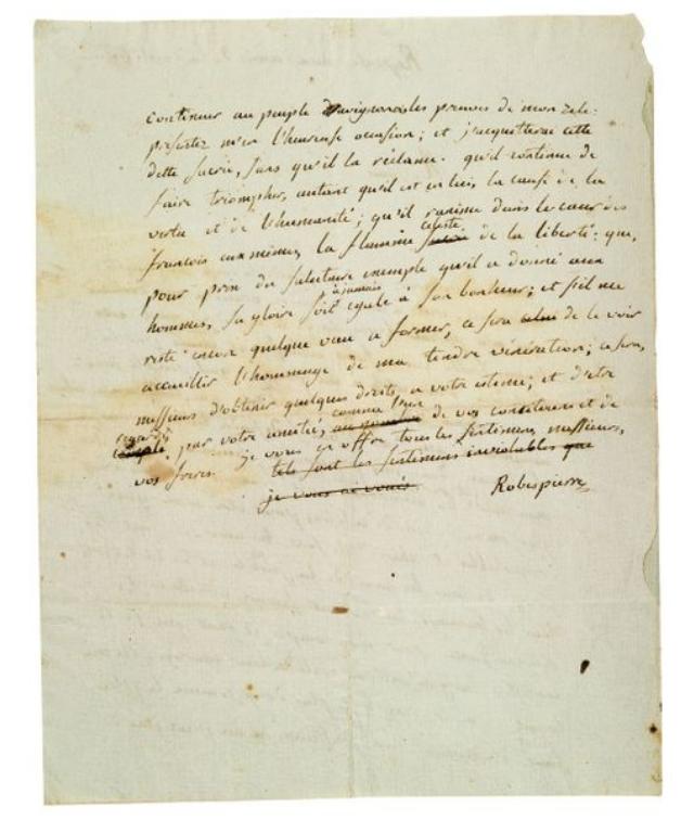 La Collection Aristophil - Lettres et documents importants Zducre35