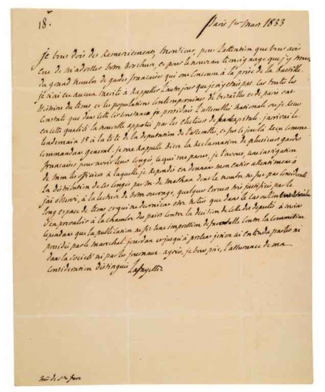 La Collection Aristophil - Lettres et documents importants Zducre36