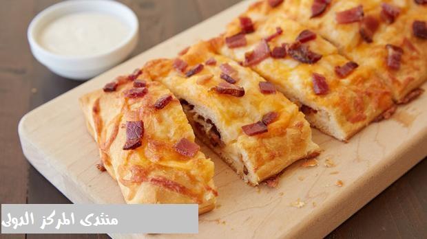 طريقة عمل خبز محشي بالفرن 0f882610