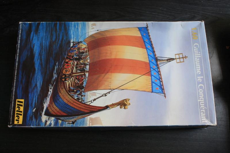 """Navire viking """" Reine Mathilde """" 1/60  ref 890 HELLER Box_ar17"""