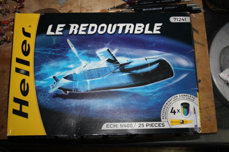 Sous-marin nucléaire lanceur d engins SNLE REDOUTABLE HELLER Réf  KIT 71241 Box_ar42