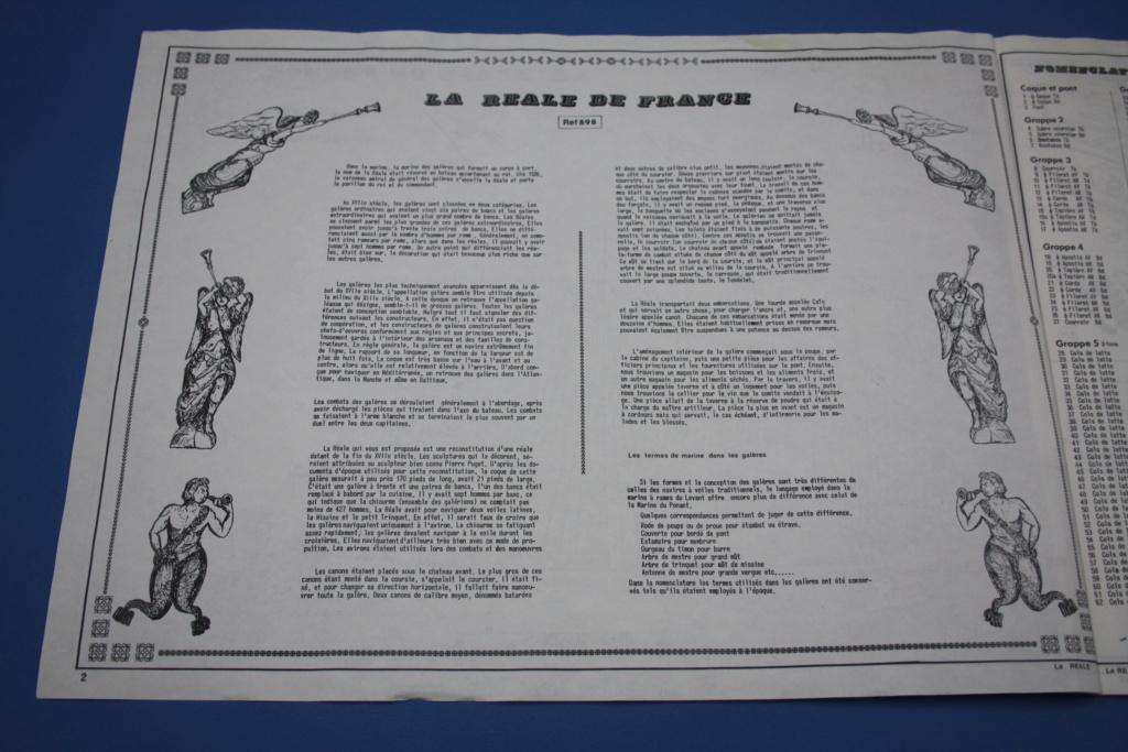 Galère LA REALE DE FRANCE 1/75ème Réf 898 - Page 2 Img_5817