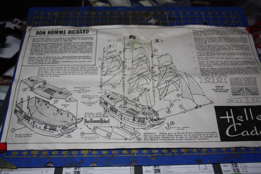 Frégate BONHOMME RICHARD  Réf CADET L 060 Img_5961