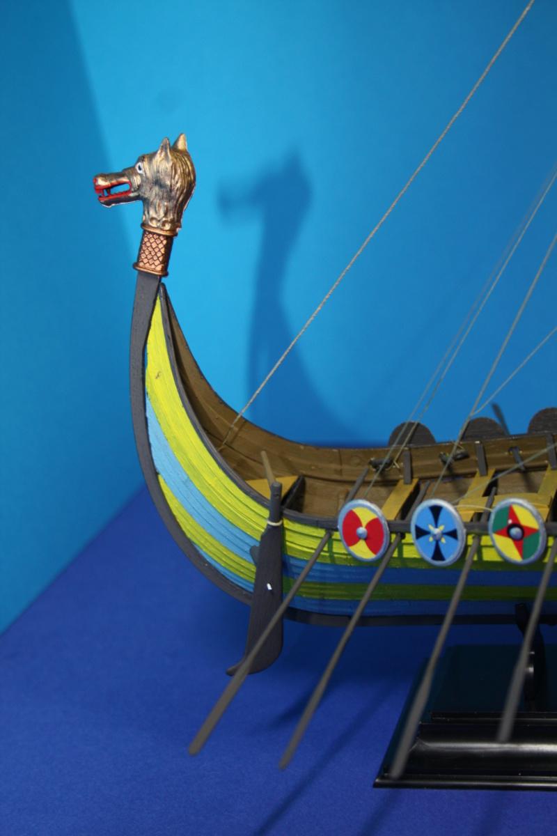 """Navire viking """" Reine Mathilde """" 1/60  ref 890 HELLER Reine_34"""