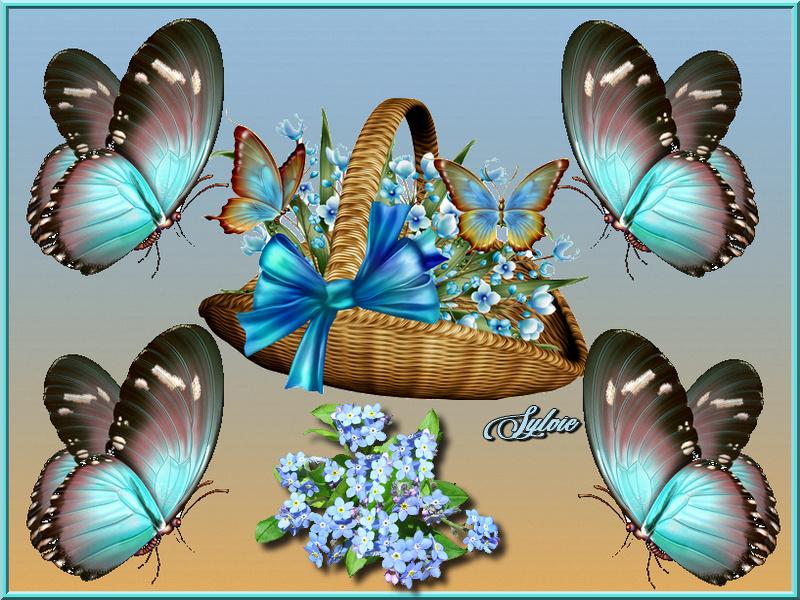 Défi du 25 Octobre / Panier & Papillons Sans_t36