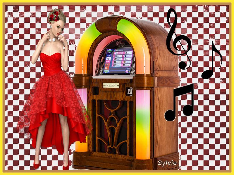 Défi du 29Octobre / Femme vêtue de rouge Sans_t39