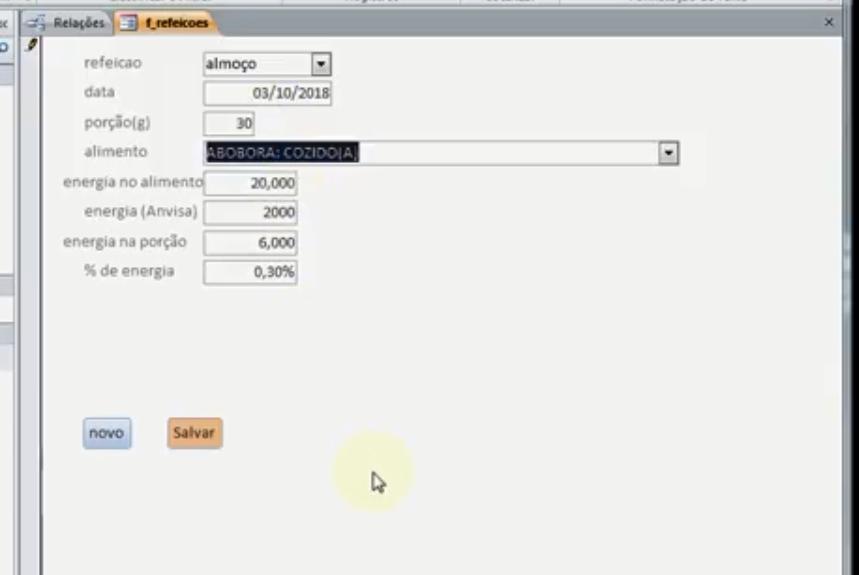 Como completar registros de uma tabela, com dados de outras tabelas? Formul10