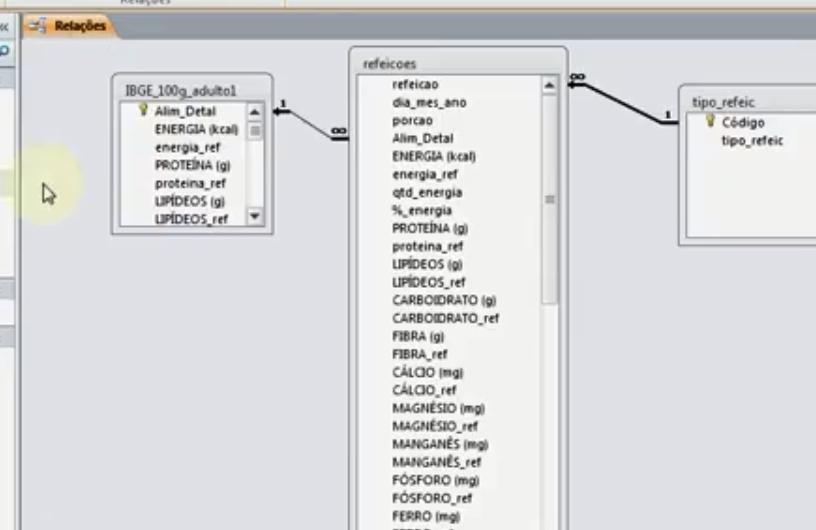 Como completar registros de uma tabela, com dados de outras tabelas? Relaco10