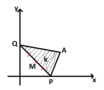 Lugar geométrico, triângulo com área constante Lg10