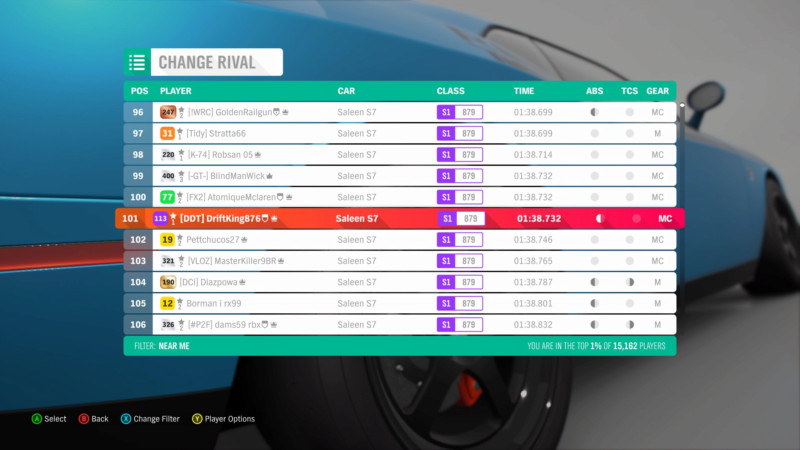 FH4 Time Attack | Road Racing - Waterhead Sprint (Saleen S7) 15486210