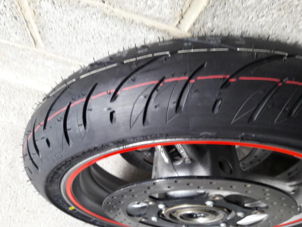 nouveau pneu avant  20190215