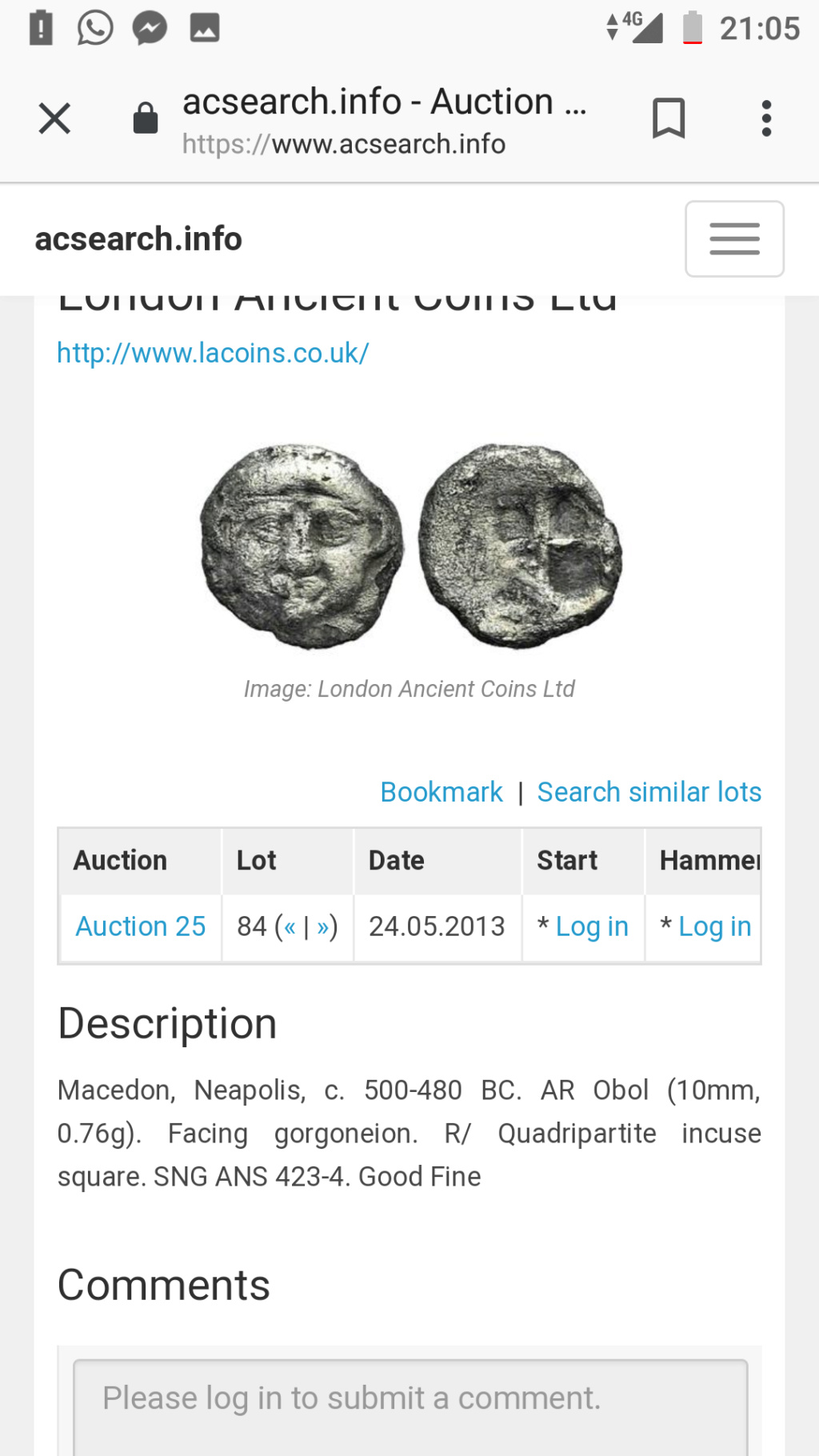 Información sobre moneda posiblemente EMPORITON Screen11