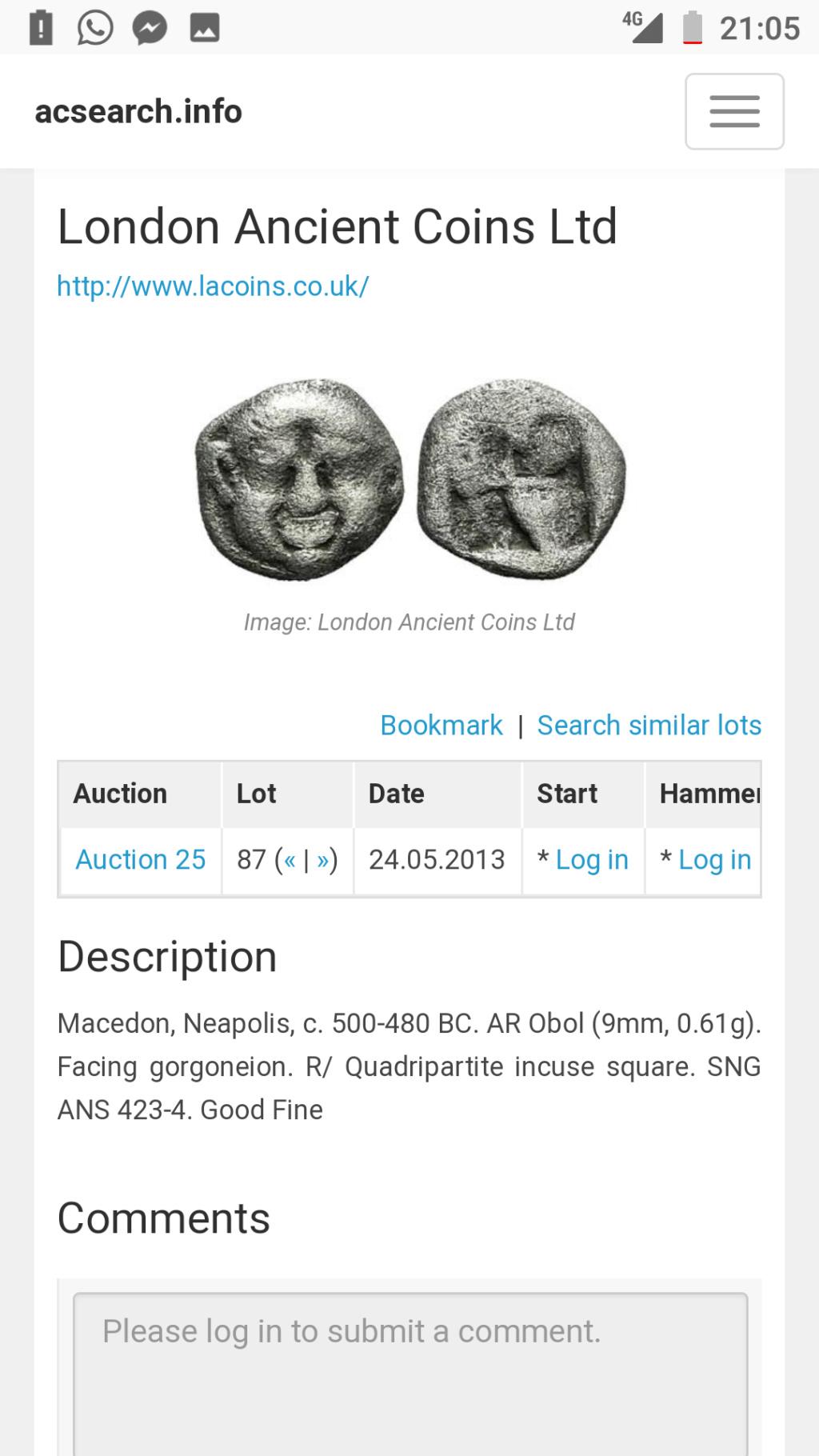Información sobre moneda posiblemente EMPORITON Screen12