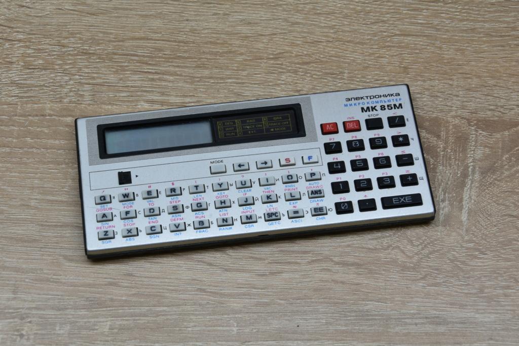 """электроника - ПЭВМ """"Электроника МК-85"""" 034"""