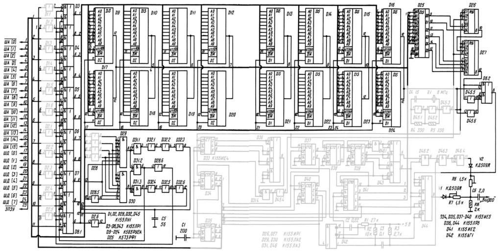 Упрощаем схему Микро-80 и исправляем косяки. И собираем по технологиям 80-х годов. 1210