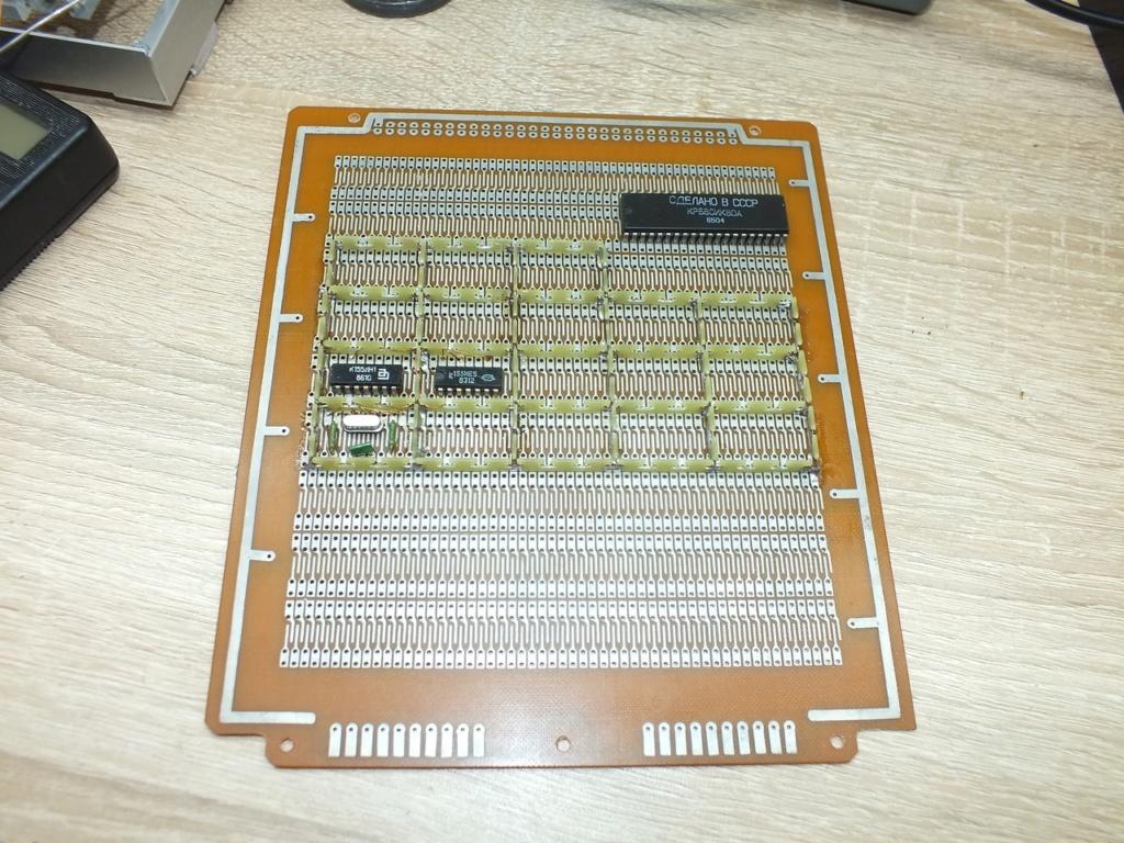 Упрощаем схему Микро-80 и исправляем косяки. И собираем по технологиям 80-х годов. Axhlvg10