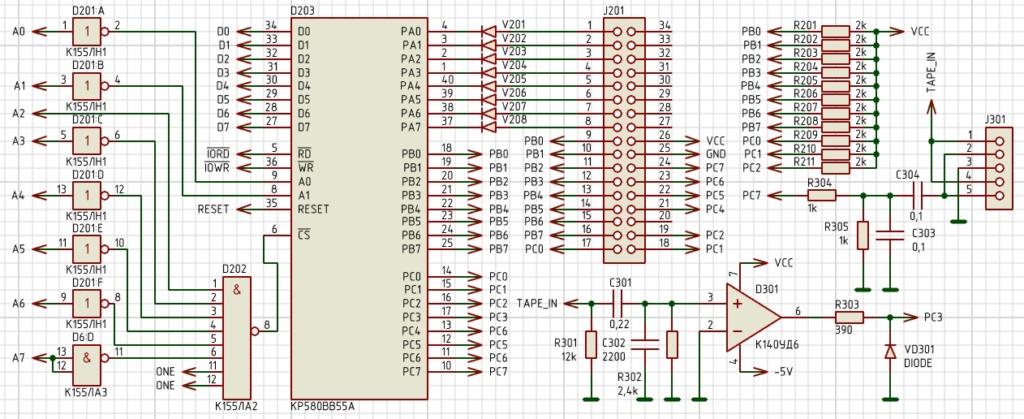 Упрощаем схему Микро-80 и исправляем косяки. И собираем по технологиям 80-х годов. Evobvs11