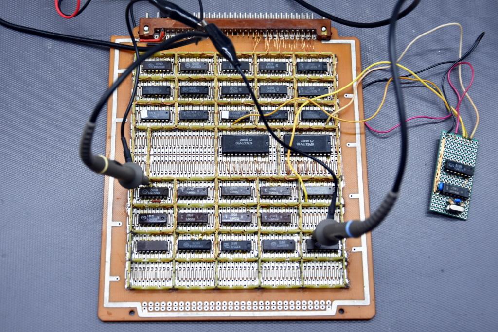Упрощаем схему Микро-80 и исправляем косяки. И собираем по технологиям 80-х годов. M110