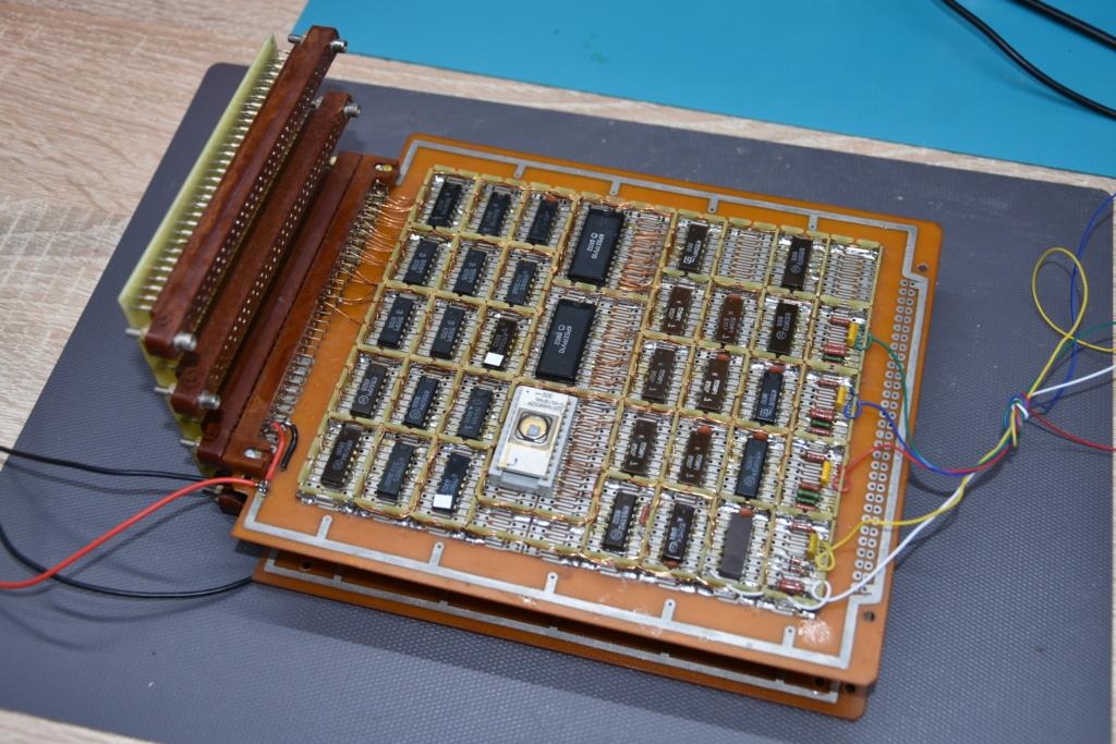 Упрощаем схему Микро-80 и исправляем косяки. И собираем по технологиям 80-х годов. S110