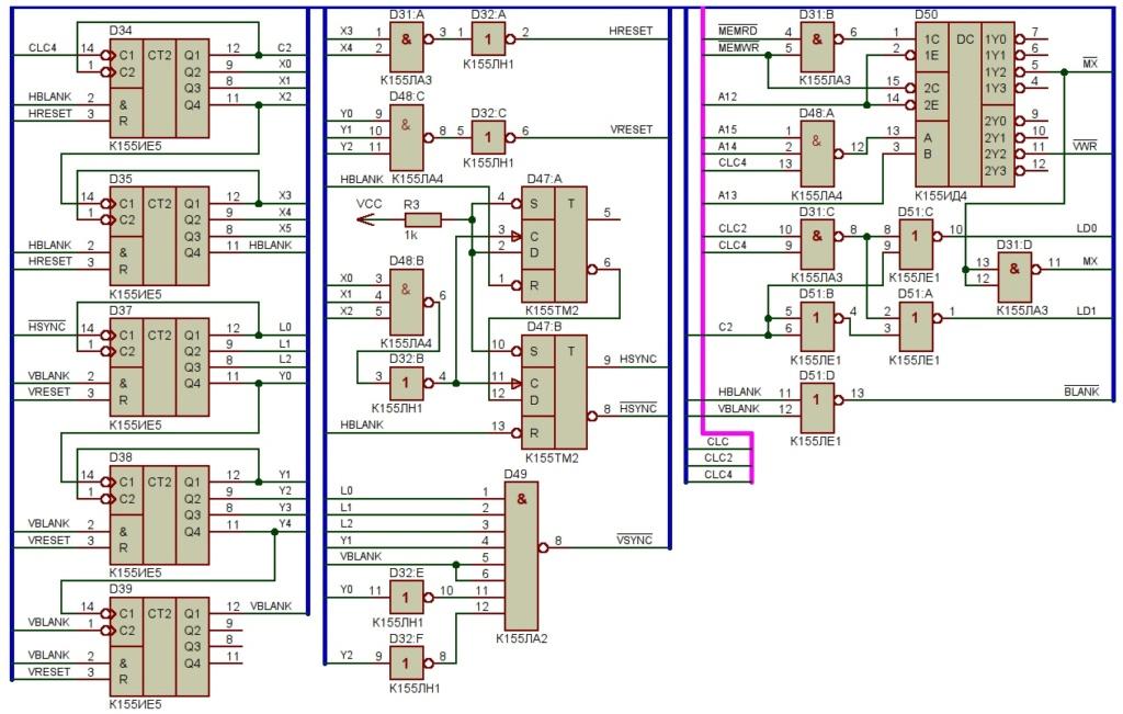 Упрощаем схему Микро-80 и исправляем косяки. И собираем по технологиям 80-х годов. Vdzyex10