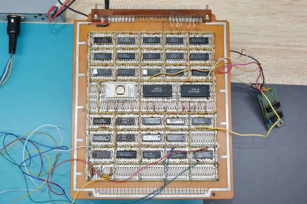 Упрощаем схему Микро-80 и исправляем косяки. И собираем по технологиям 80-х годов. W110
