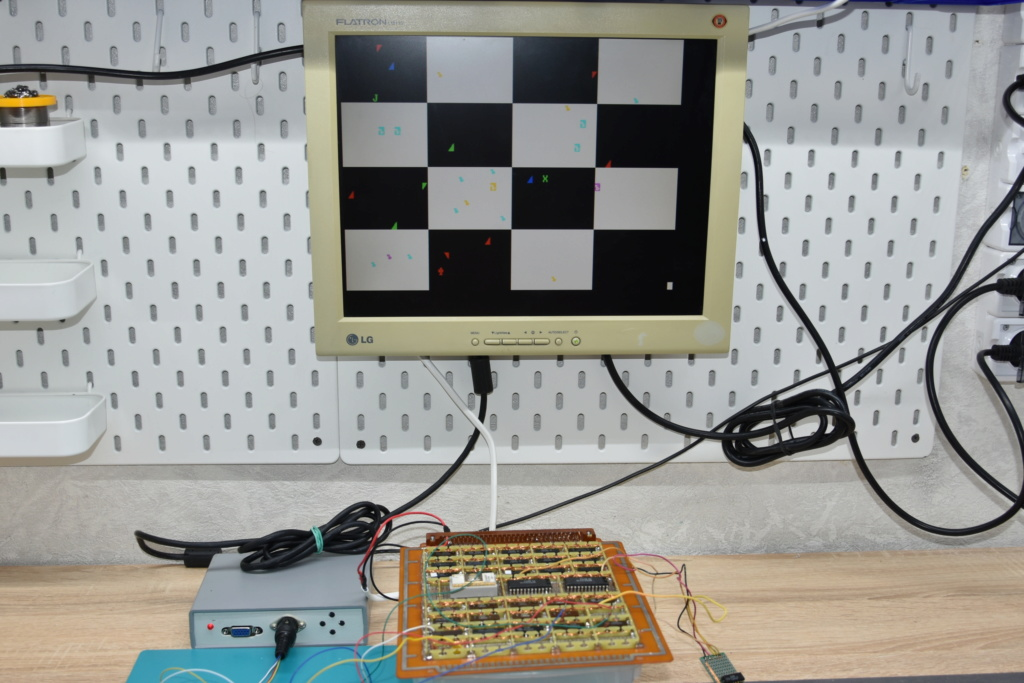 Упрощаем схему Микро-80 и исправляем косяки. И собираем по технологиям 80-х годов. W210