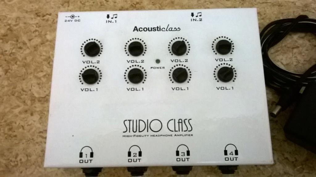 Vendo Amplificador De Fone De Ouvido StudioClass Da Marca AcoustiClass Wp_20112