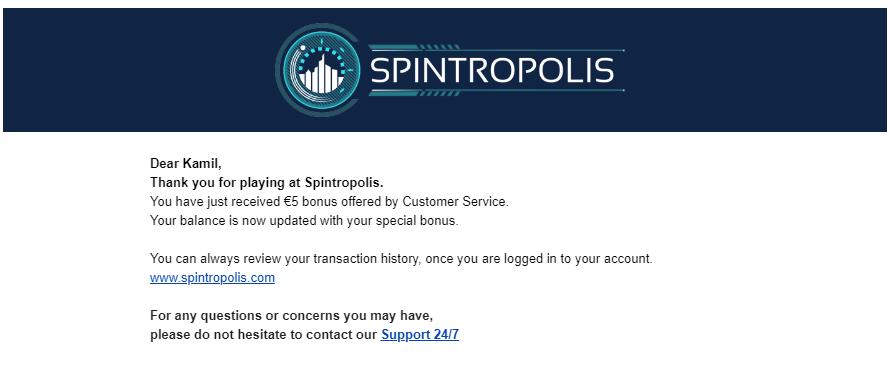 Spintropolis Casino darmowe promocje - Page 2 Bonuss10
