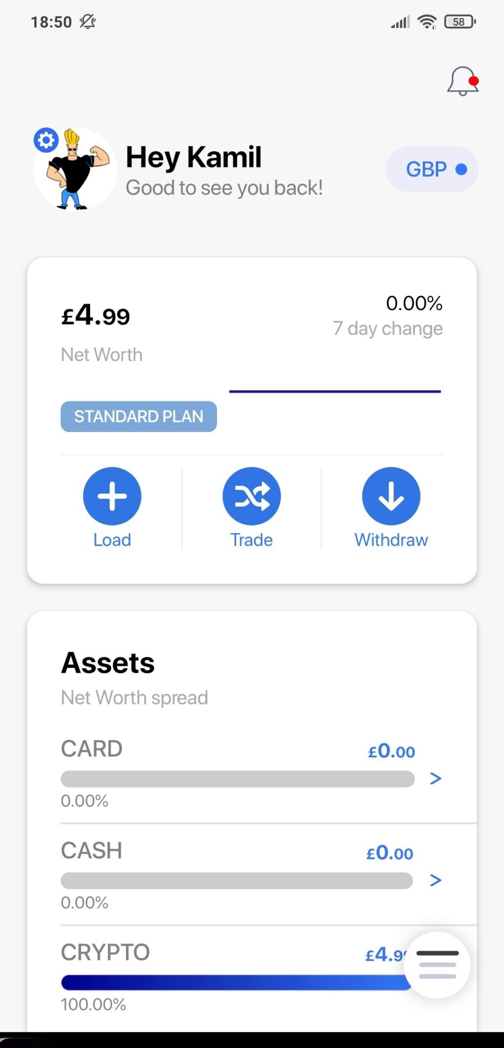 Tap Global - 5£ w BTC za rejestrację i KYC - Page 2 Screen10