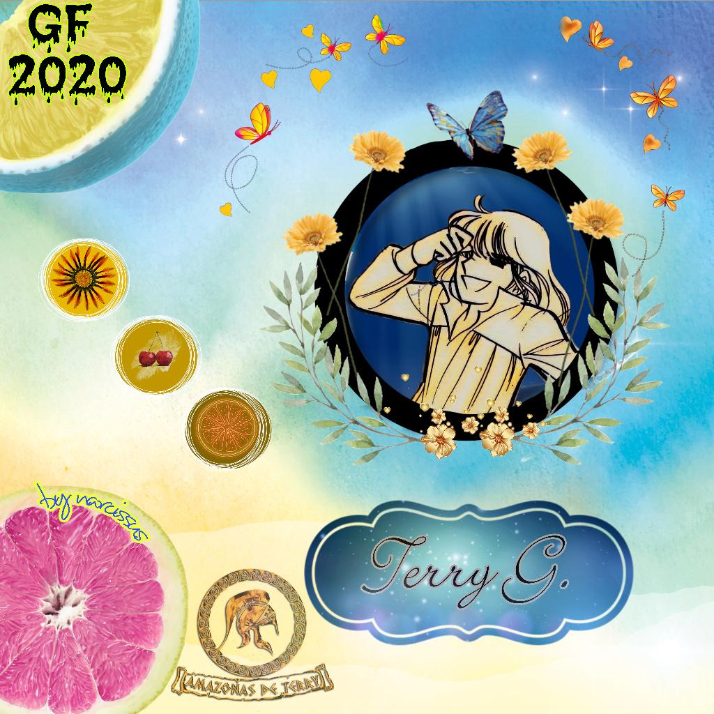 """DESDE LA FUNDACIÓN K-G AMAZONAS DE TERRY, 2o aporte amazona honoraria narcissus, letras """"Las estaciones de mi vida"""" Picsar45"""