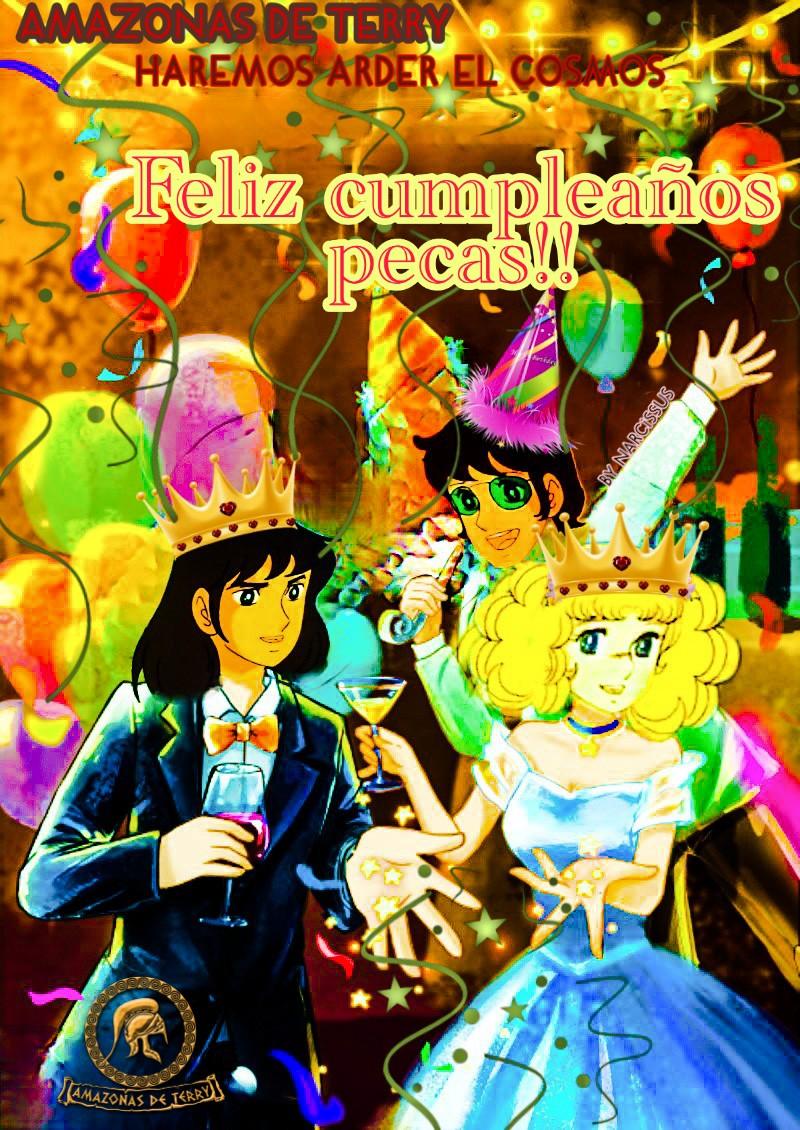 """DESDE LA FUNDACIÓN K-G AMAZONAS DE TERRY, 10o aporte amazona honoraria narcissus,  """"Feliz cumpleaños Pecas"""" Picsar55"""