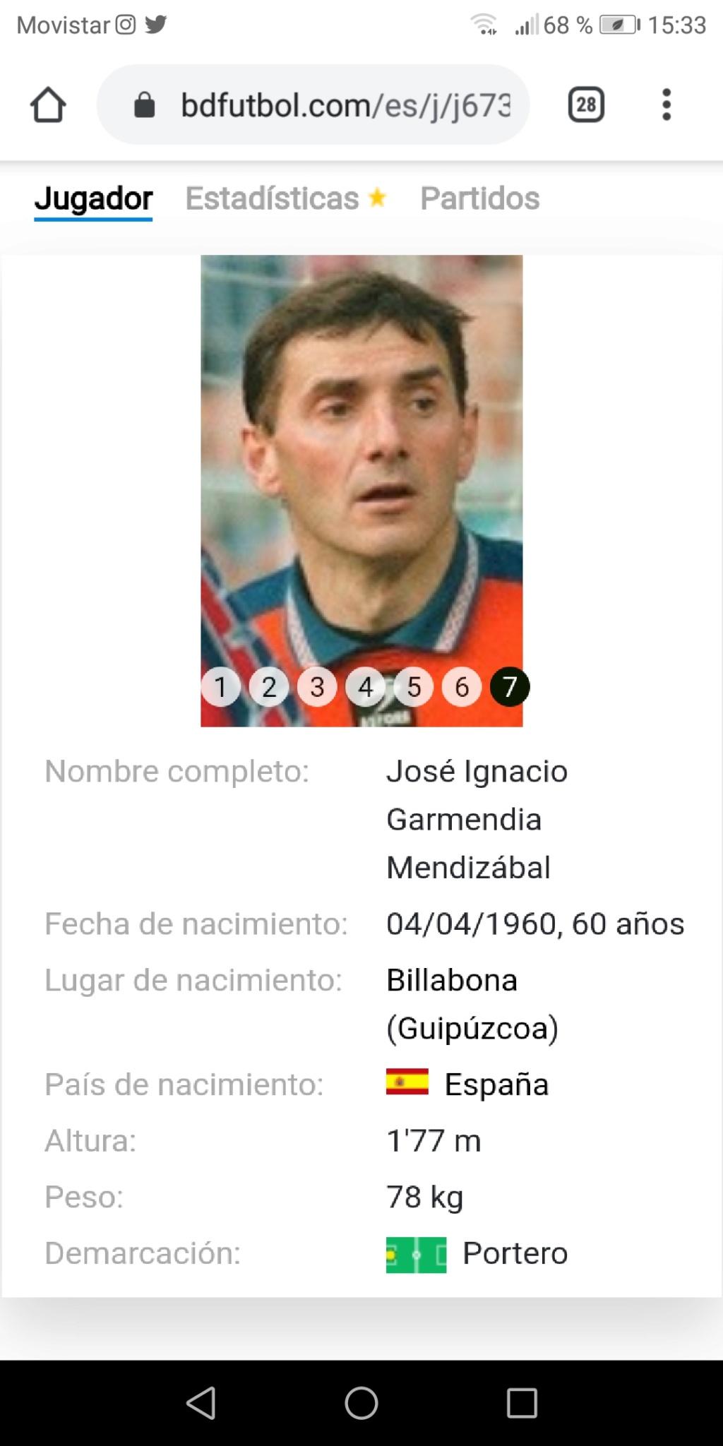 Los porteros más bajos de la historia del futbol -- Shortest goalkeepers in football - Página 7 Screen56
